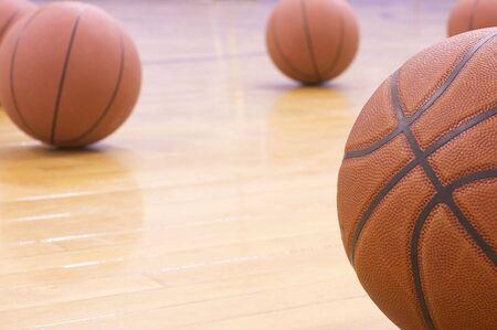 basketball tournaments: basketballs