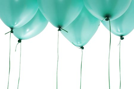 green balloons photo