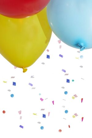 balloons and confetti Stock Photo - 753444
