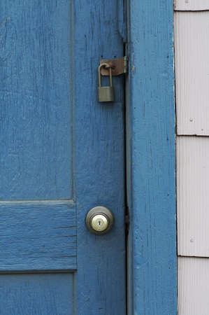 private access: old door