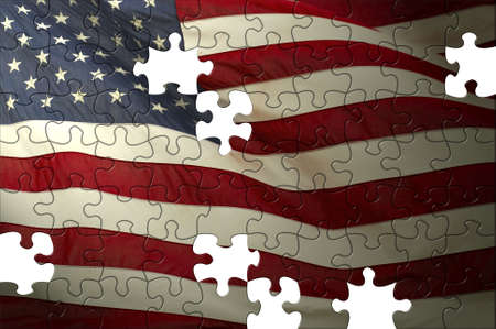 usa flag 版權商用圖片