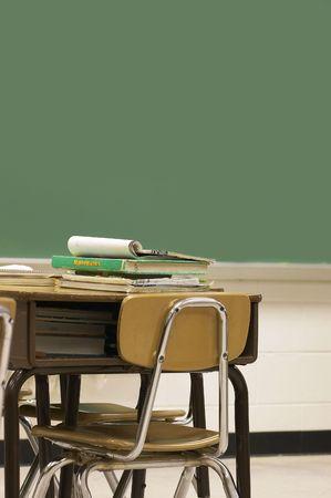 school classroom Standard-Bild