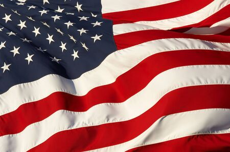 a close up picture of an american flag 版權商用圖片