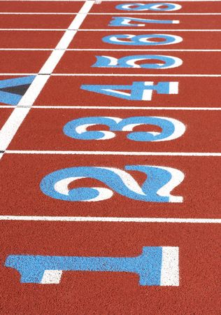 a picture of a track and field venue Stock Photo - 2633687