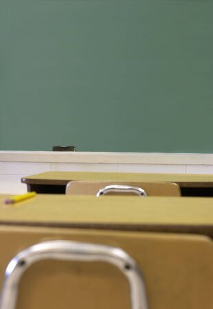 a picture of a school class room Imagens