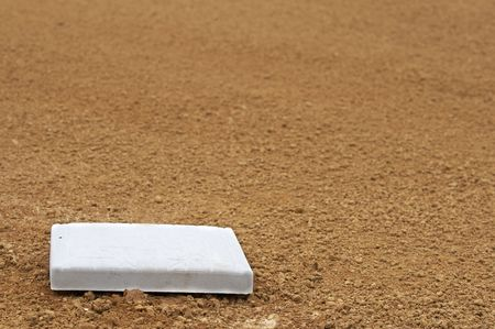 a picture of a baseball infield Stock Photo - 4528726