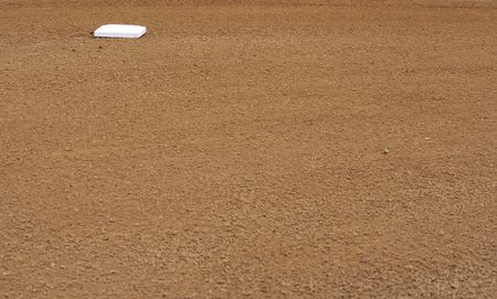 a picture of a beaseball infield