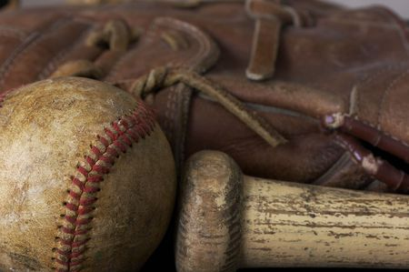 a macro picture of a baseball Stock Photo - 4933887