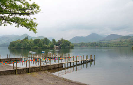 Derwent Water KeswicK looking towards the small island photo