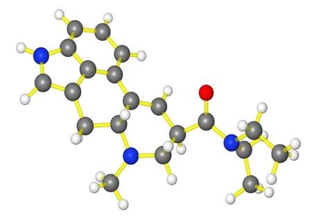 lsd: Molecular model of lsd