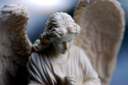 ange gardien: Bisque de la statue ange