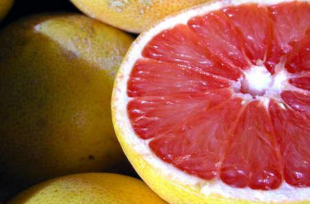 progeny: Cut Grapefruit Stock Photo