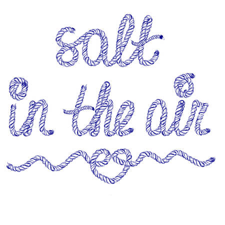 Sand in the air Illustration