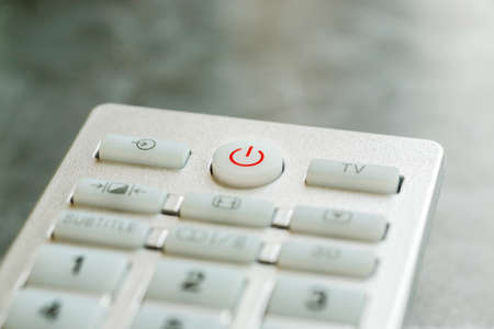 Remote control buttons macro shot, shallow depth of field
