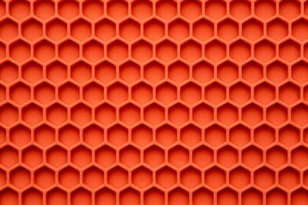 Honeycomb surface abstract texture, macro shot