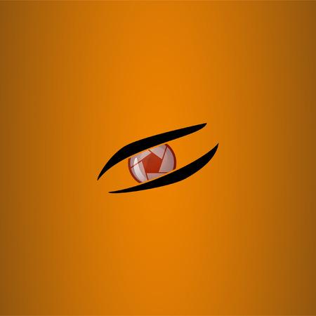 shutter: Shutter combined with an eye