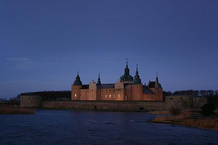 get up: Kalmar Castle an early morning after-sun get up Editorial