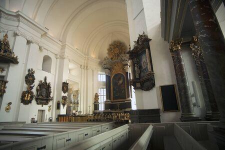 church interior: Kalmar Church interior Editorial