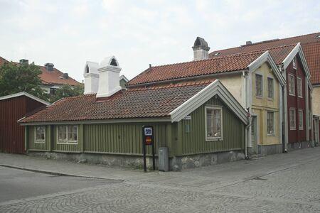 Three small houses called Tripp Trapp Trull Kalmar, Editorial