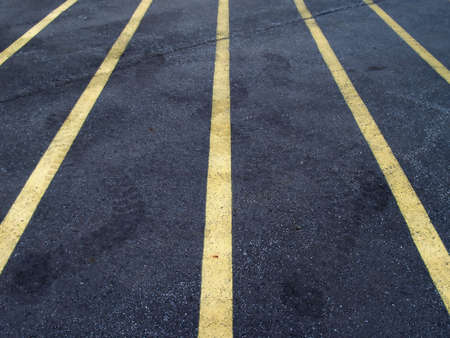 Parking Lines Stock Photo