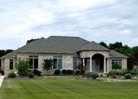 constructed: Large, newly constructed home in a suburb of Cleveland Ohio