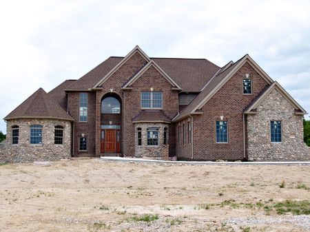 Large, newly constructed home in a suburb of Cleveland Ohio