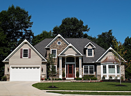 realty residence: Large, newly constructed home in a suburb of Cleveland Ohio