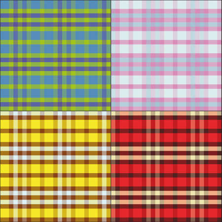tissue samples Scottish , seamless pattern, eps 10 Vector