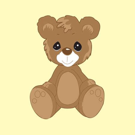 cute bear: my little cute bear Illustration
