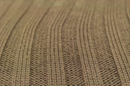 Green wool texture with straight and long strips