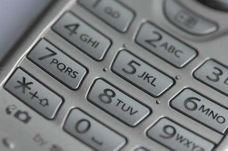 Mobile phone keypad macro 2 photo
