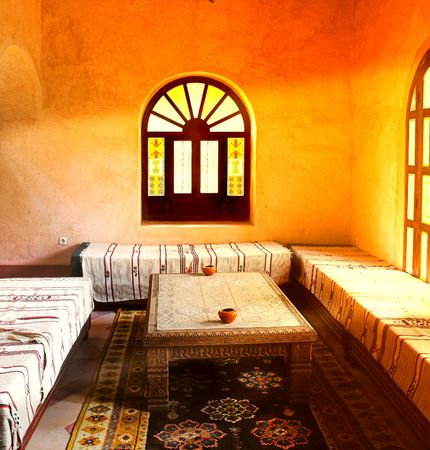 Inside traditional, luxury arab home Stock Photo - 775908