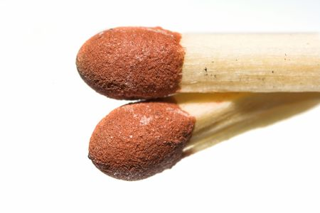 A macro photo of typical Danish matchstick