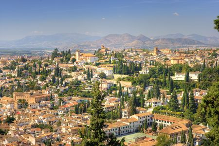 A cityscape from Costa Del Sol, Spain Stock Photo - 1991523