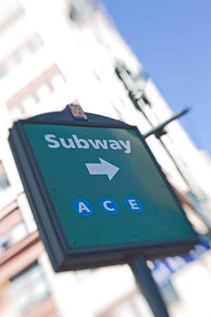 Subway station in New York - blurred and useful as background Stock Photo - 6938535