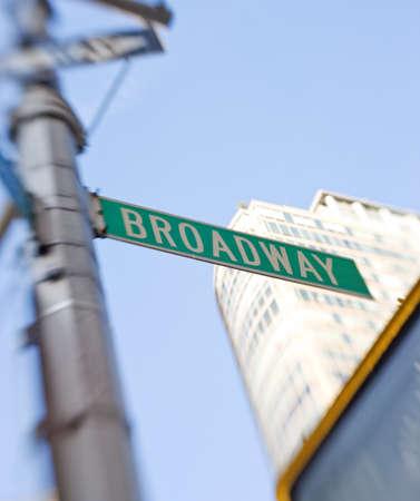 broadway: Verkehrszeichen in Manhattan, New York