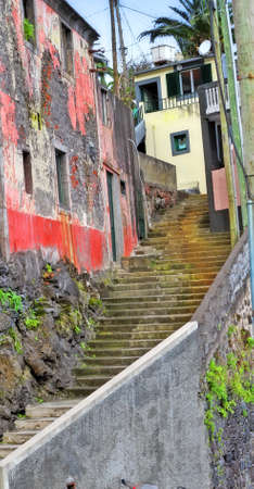 Old houses in Portugal - colorful Stock Photo - 7352258