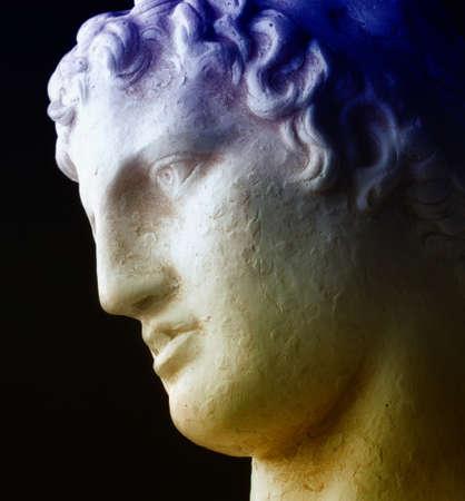 The Thinker - Ancient greek philosopher Stock Photo