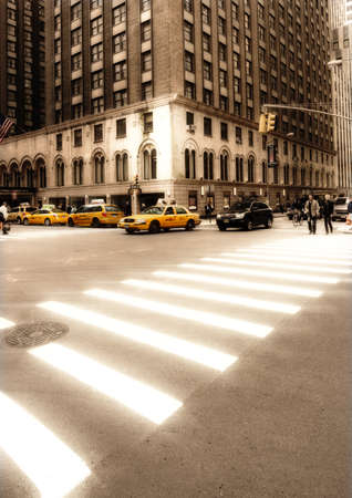 Everyday street life in New York - Manhattan