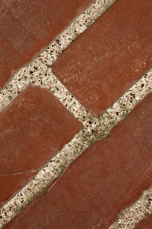 A close-up photo of a wall of red bricks Stock Photo - 7352317