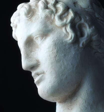 denker: Griekse filosoof - verdrietig, diep, en verlichte
