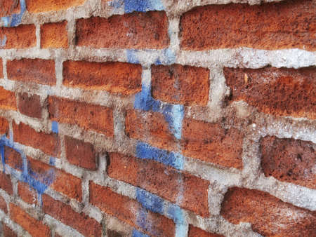 A very old brick wall Stock Photo - 7465511