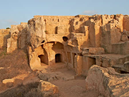 locality: Archaeological locality in Pafos, Cyprus