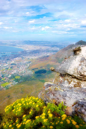 Cape Town from Mountain Table