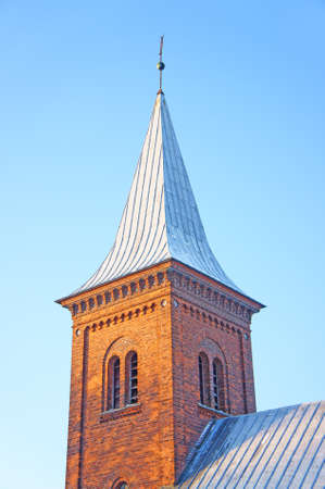 A photo of Danisch church tower in wintertime Stock Photo - 9540678
