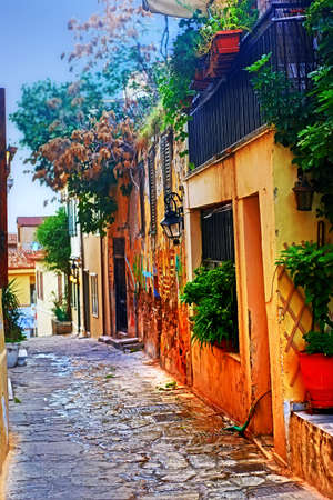 ein Foto von Häusern in Athen, Griechenland