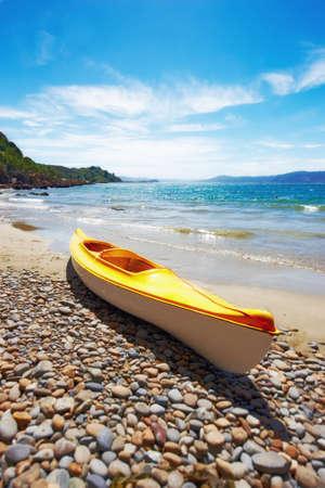 A photo of the beach of Karaka Bay, New Zealand