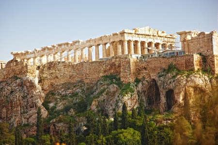 a photo of Parthenon, Athens Acropolis  photo