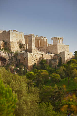 a photo of Parthenon, Athens Acropolis  Stock Photo - 9937984