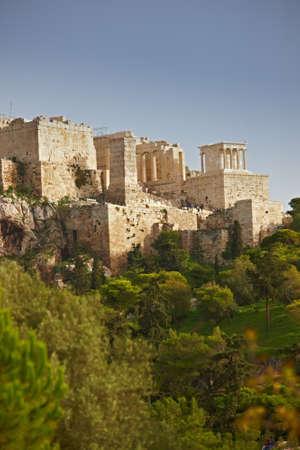 a photo of Parthenon, Athens Acropolis Stock Photo - 9937984